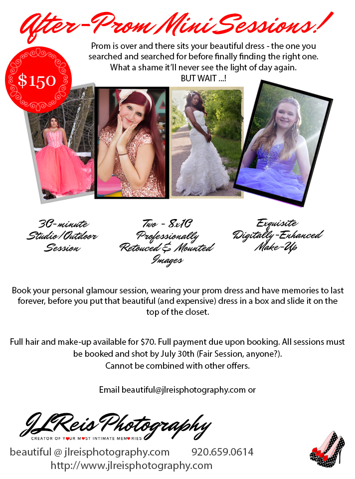 Modern Glamour Photography in Green Bay, Appleton, Seymour, Shawano, Wisconsin